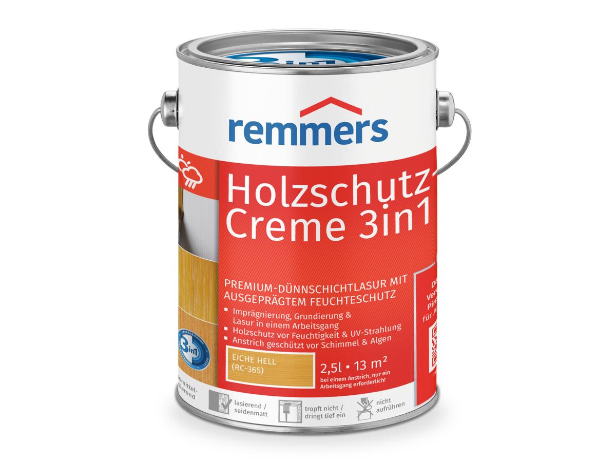 Bevorzugt Holzschutz-Creme: Lösemittelbasierte Holzschutz-Lasur in... | Remmers KA07
