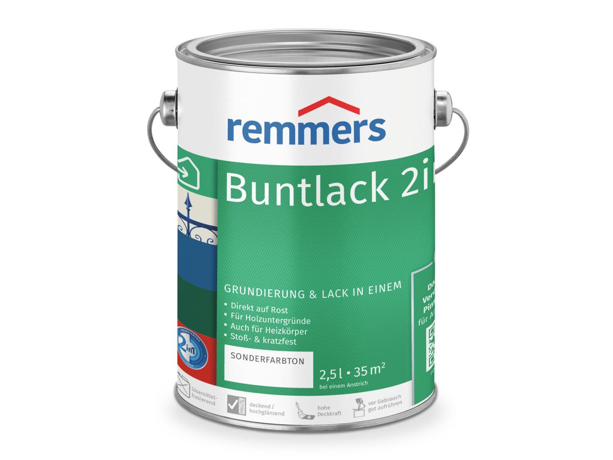 Turbo Buntlack 2in1: Grundierung & Lack für viele Untergründe | Remmers AA36