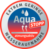 Button Aqua Stopp