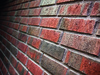 Brick facade close up