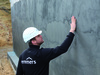 employee, man waterproofing, external waterproofing, external waterproofing