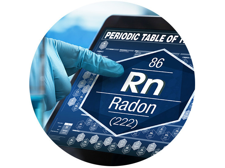 Radon Banner / Collage